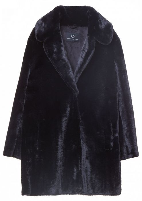 Gisele Coat Jet Black