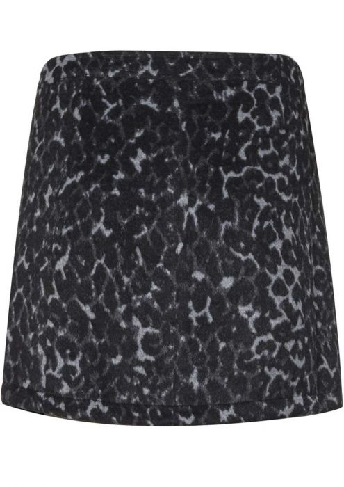 Feline Skirt Dark Grey Melange