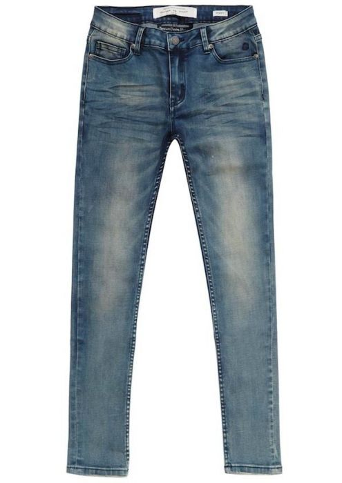 Girls Poppy Dirty Washed Blue