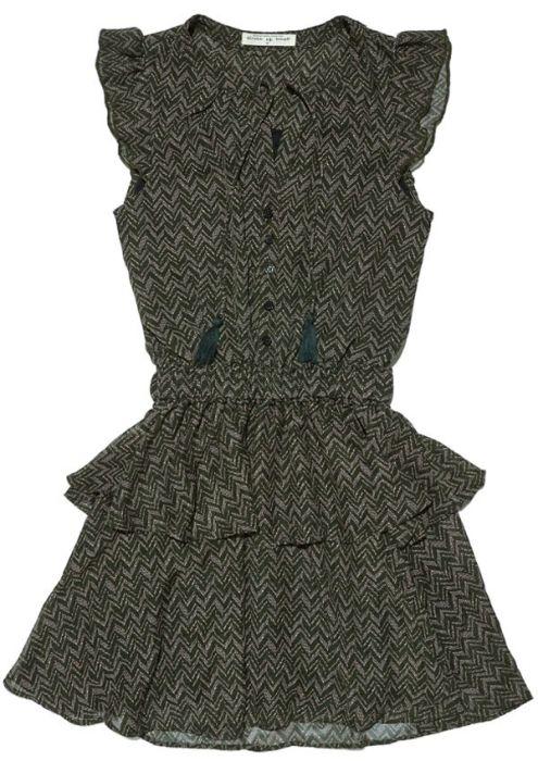 Girls Gaby Dress Zigzag