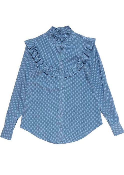 Girls Denver Blouse Jeans Blue