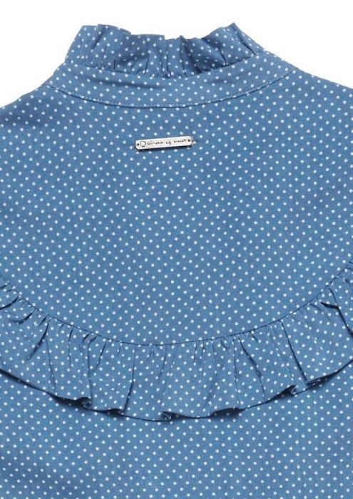 Girls Denver Blouse Jeans Blue