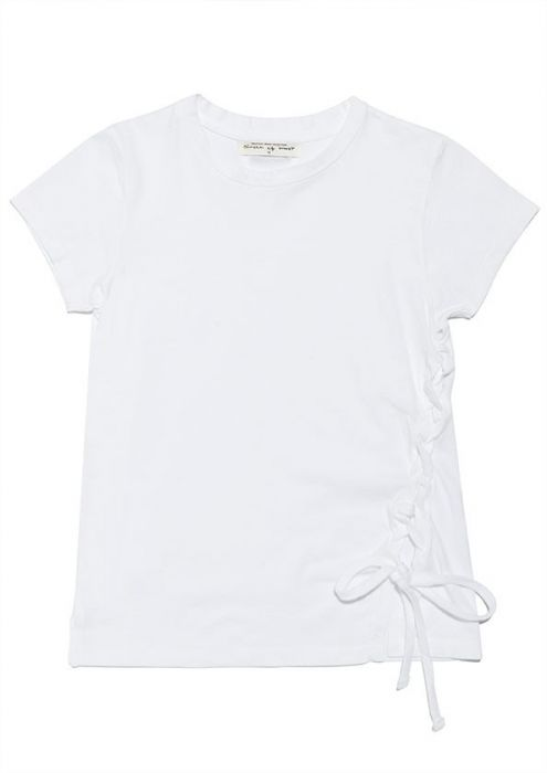 Girls Milli Tee White Swan