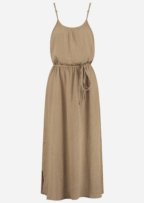 Ava Dress Safari Mud