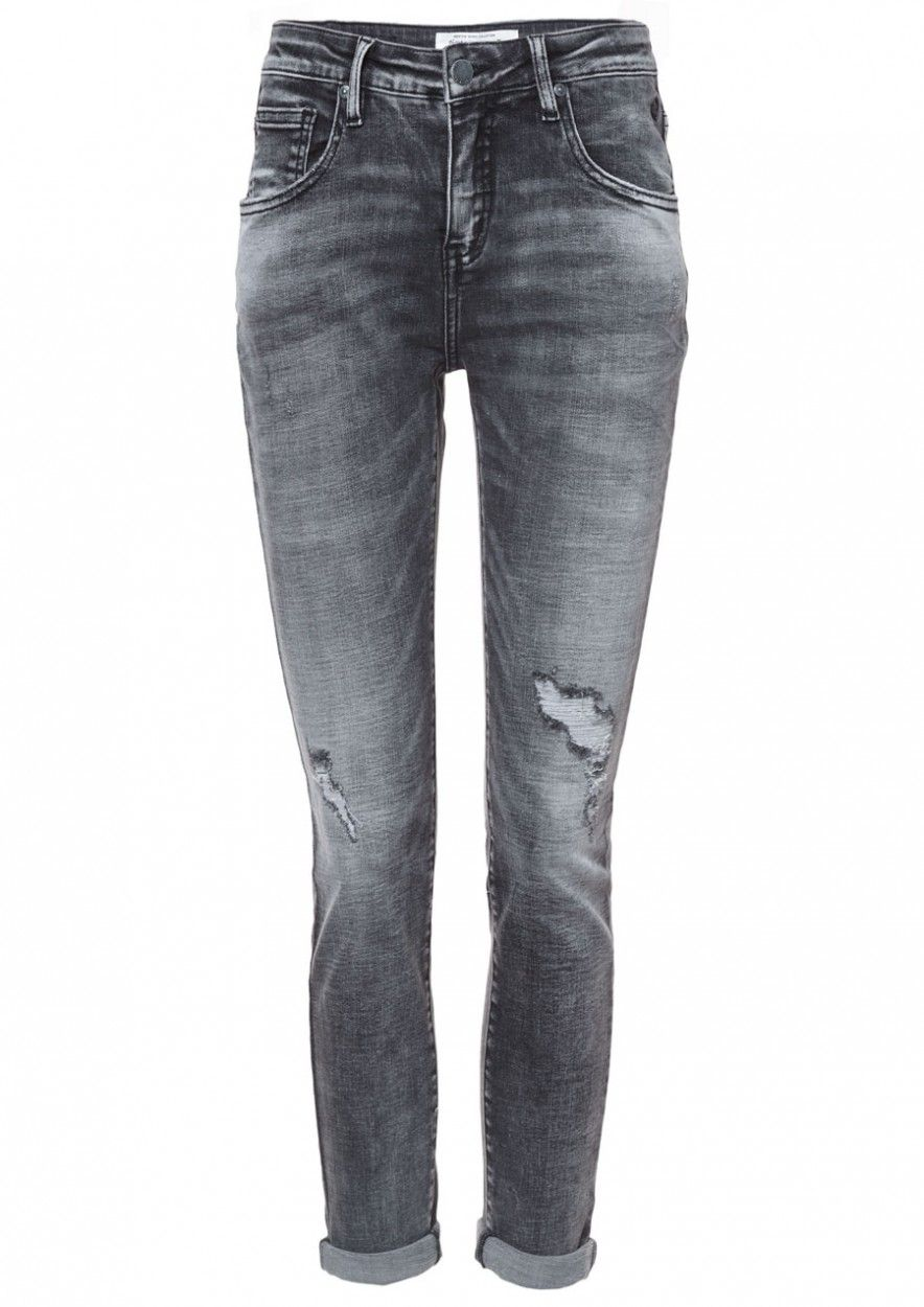Cooper Denim Damaged Charcoal