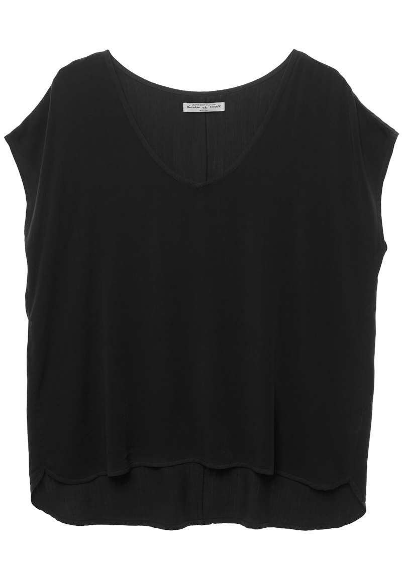 Dena Top Jet Black