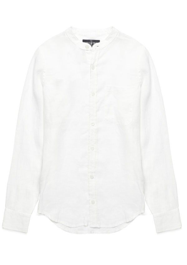 Julian Shirt Atrium White