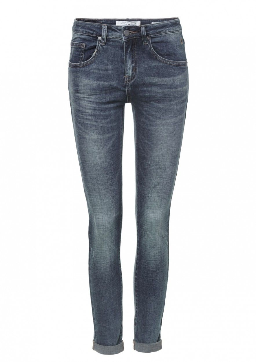 Cooper Denim Ragged Blue Wash