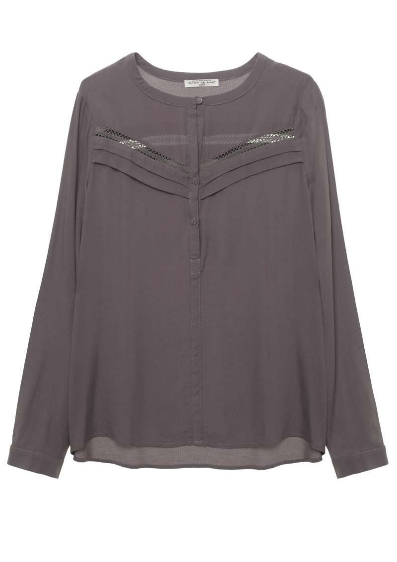 Tammy Blouse Dark lavender