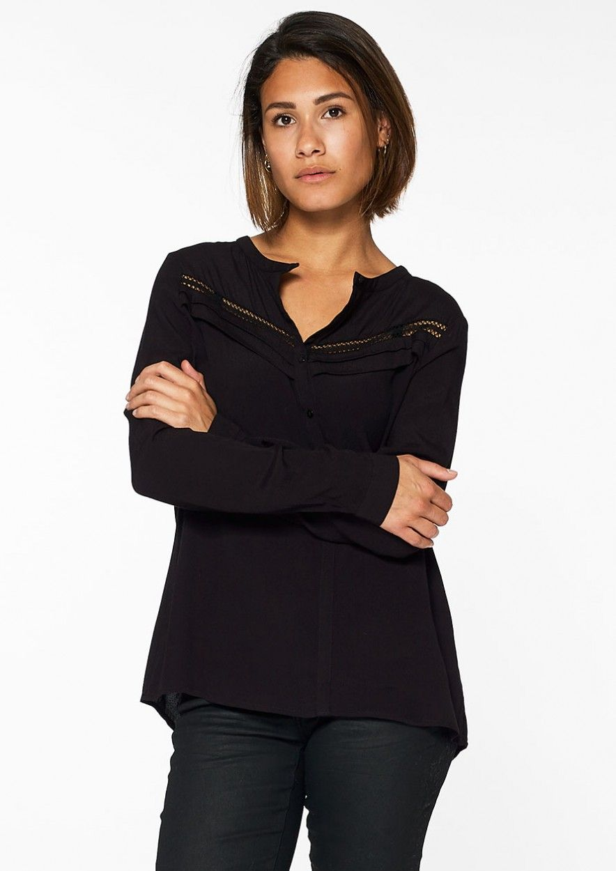 Tammy Blouse Jet Black