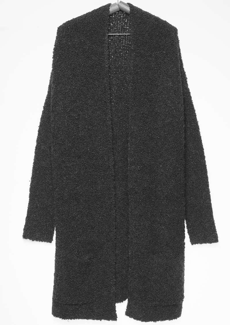 Lauren Cardigan Dark Grey Melange