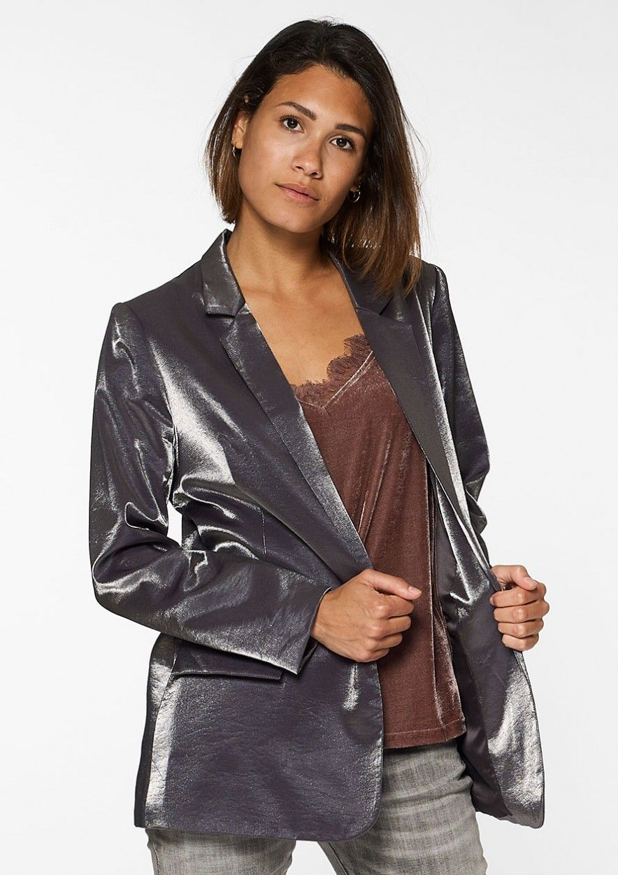 Isa Blazer Dark Grey