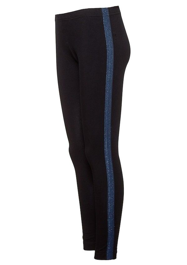 Zoe Legging Carbon Blue Stripe