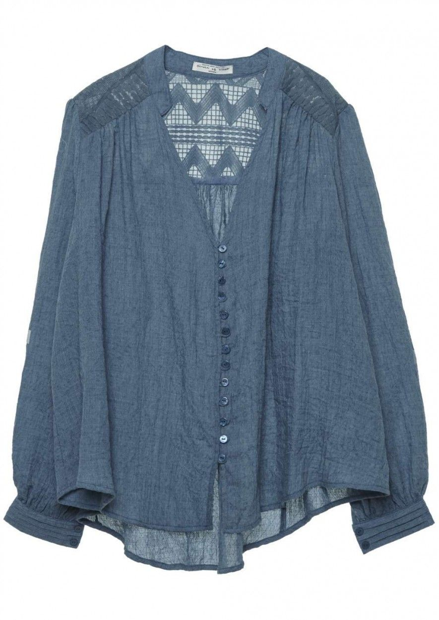 Rayley Blouse Jeans Blue