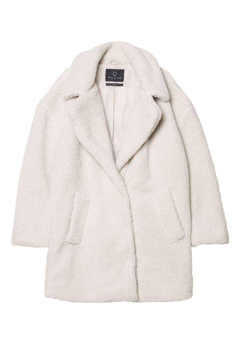 Lori Coat Off White