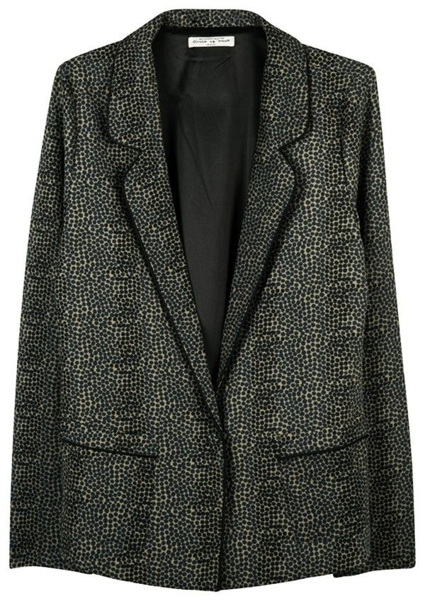 Scottie Blazer Golden Palm