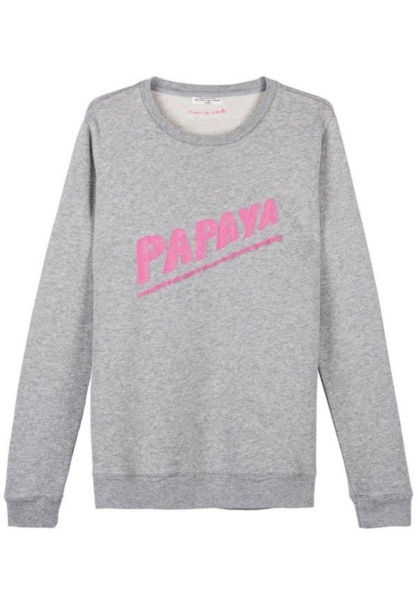 Fay Sweat Grey Melange