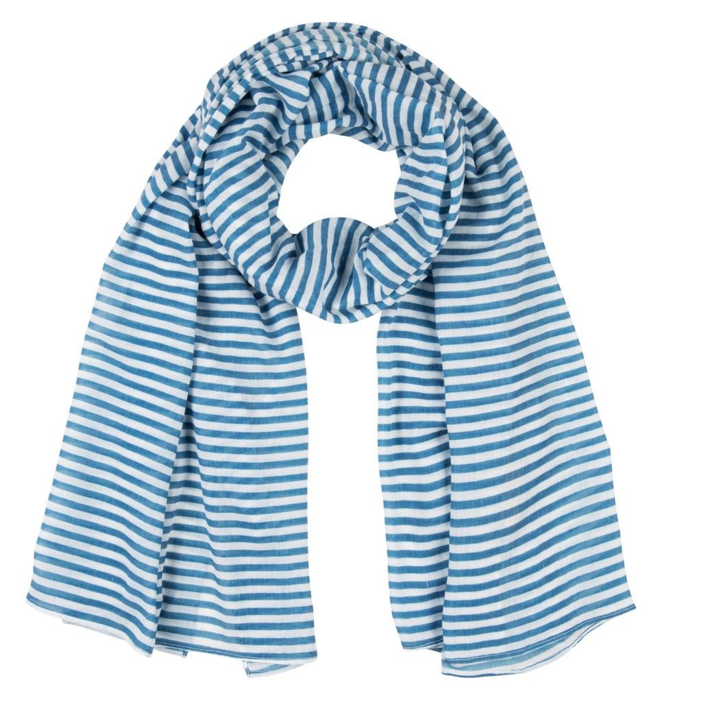 Girls Moli Scarf Jeans Blue