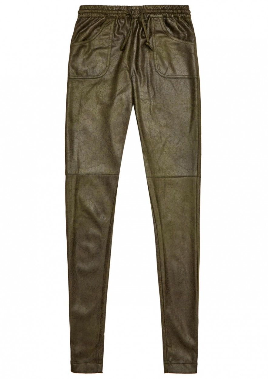 Girls Regan Pants Dark Army
