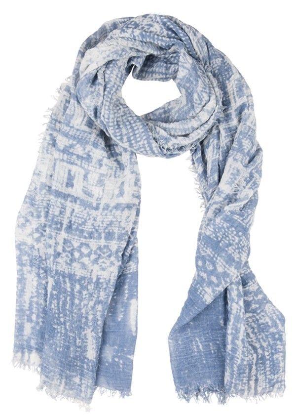 Batik Scarf Jeans Blue