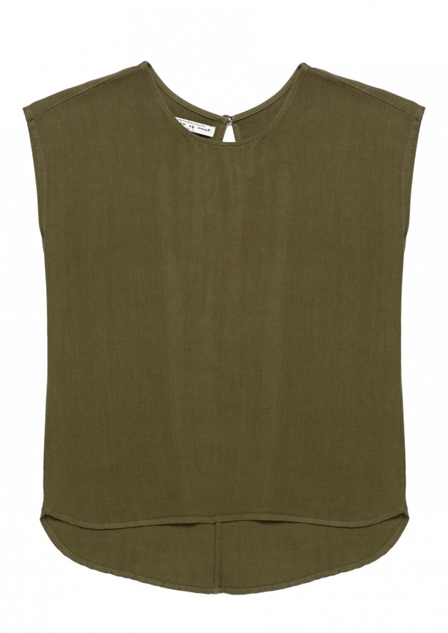 GIRLS DENA TOP Dark olive