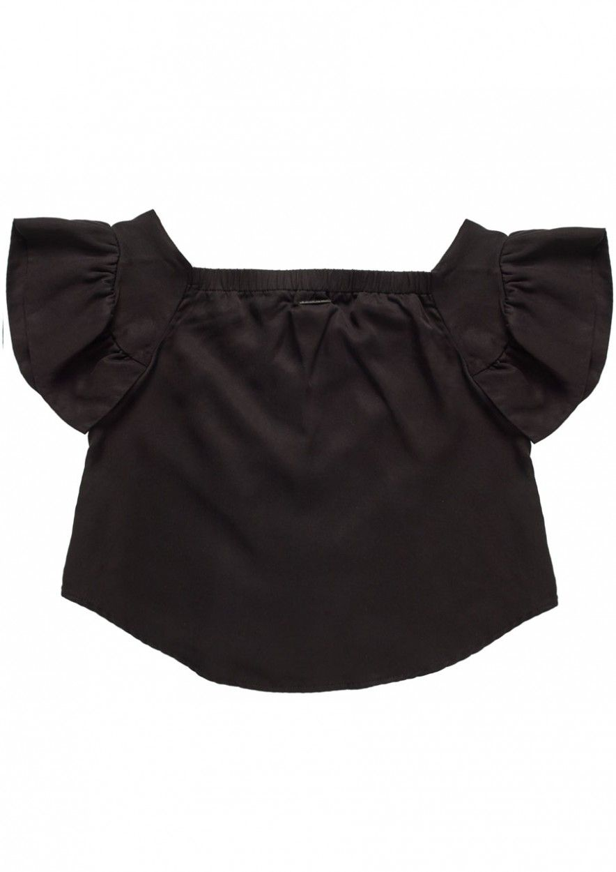 Girls Adena Top Black