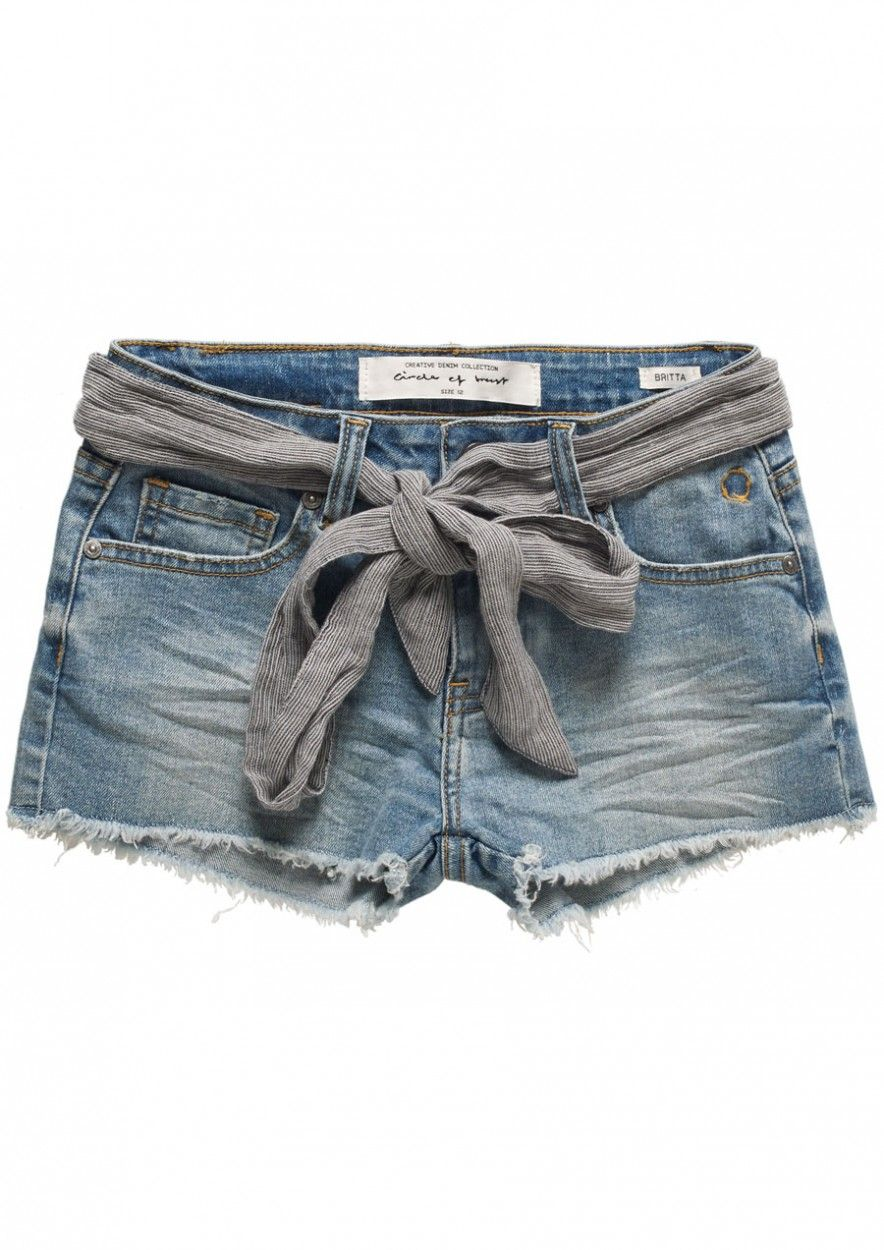 Girls Britta Short Light Tumble Wash