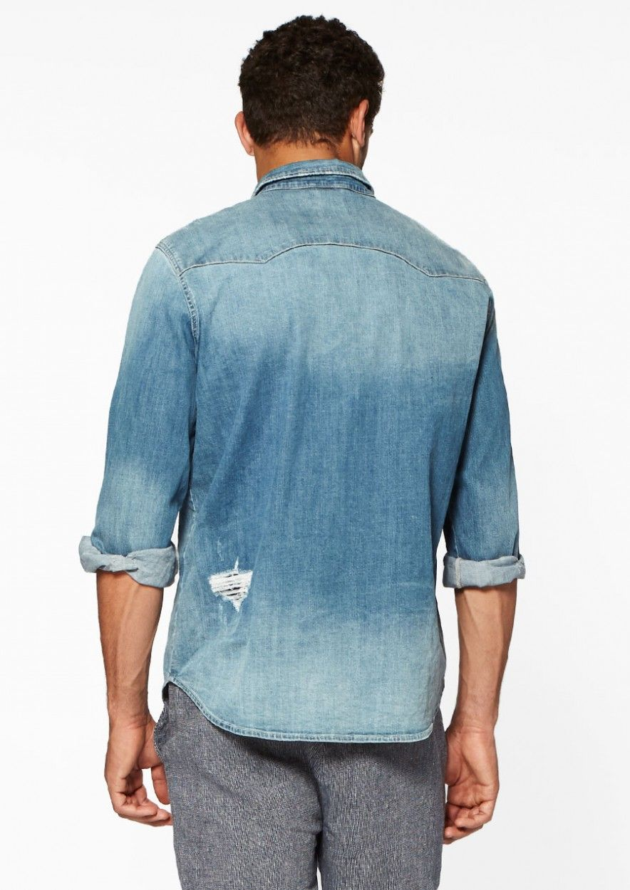 Denim Shirt Cool Breeze
