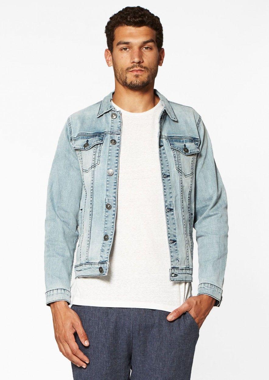 Ido Denim Jacket Dry Blue Wash