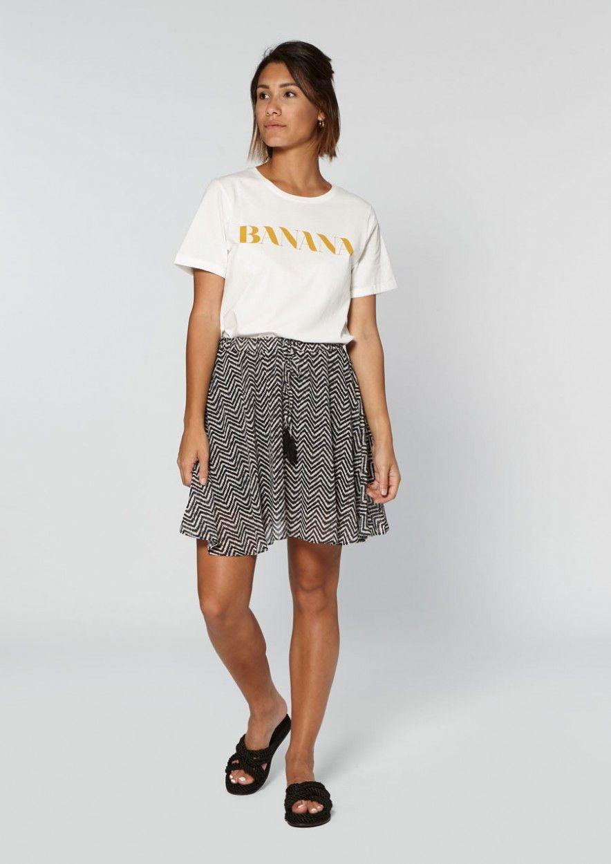 Maja Skirt Crazy Zebra