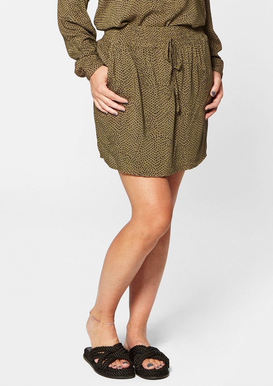 Dara Skirt Dark Olive