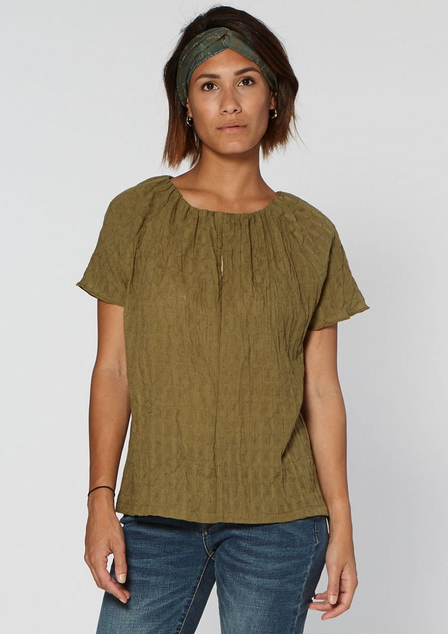 Elsy Top Dark Olive