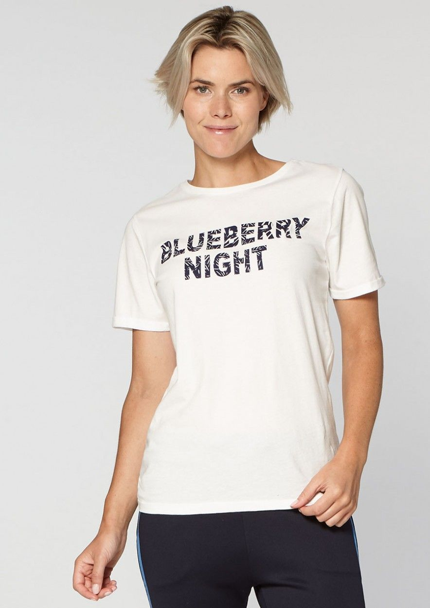 Paradise Tee Blueberry night