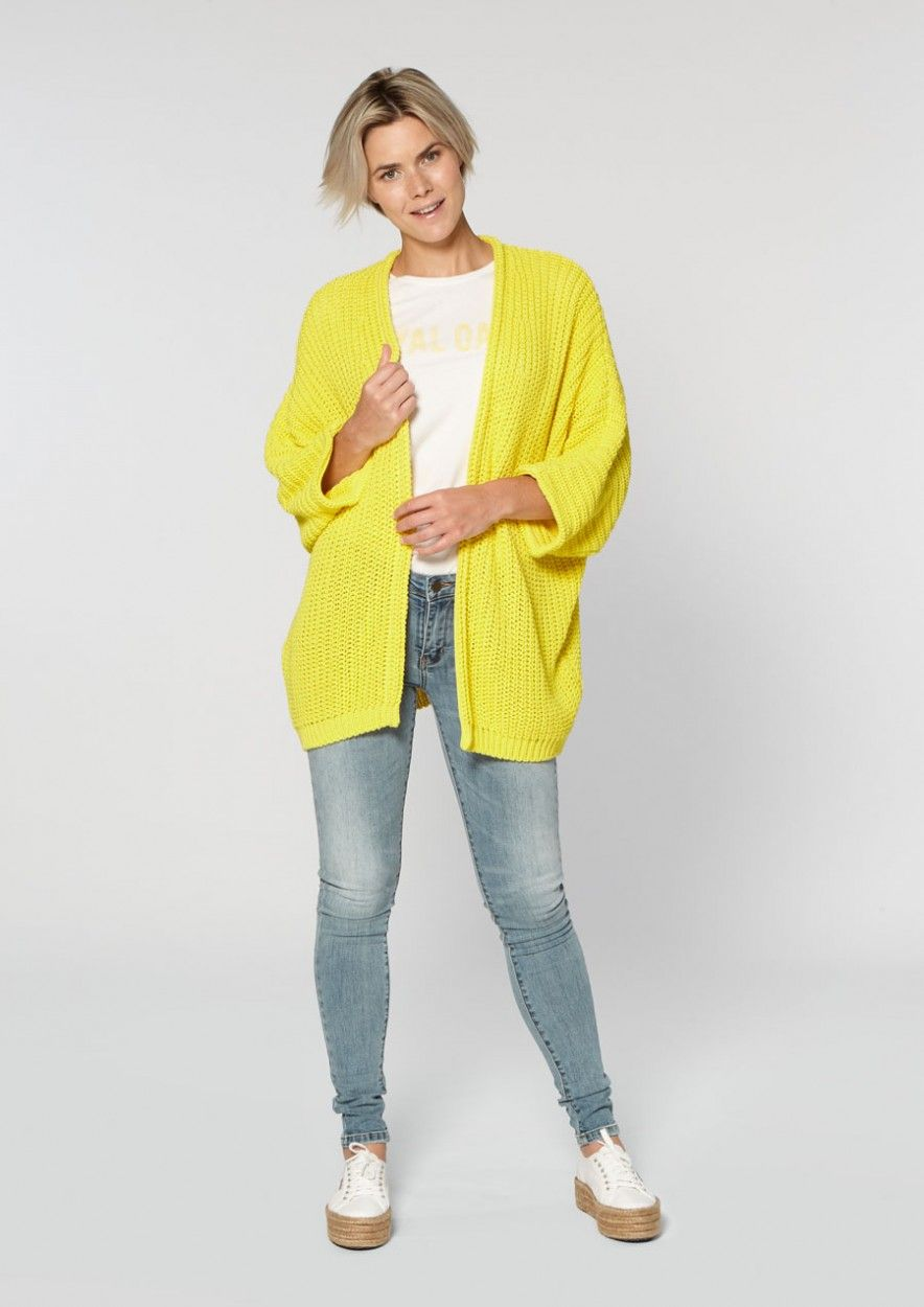 Yuna Cardigan Fresh Lemon