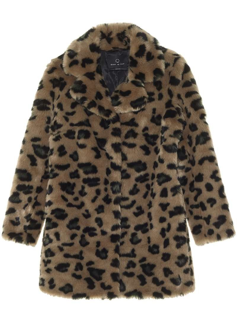Girls Chrissi Coat Dark Army Leo