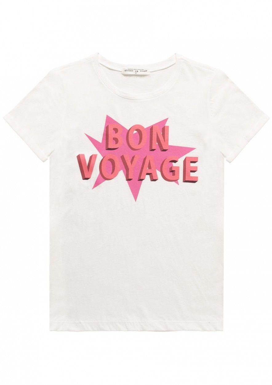 Girls Paradise Tee Bon Voyage