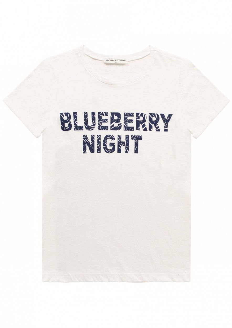 Girls Paradise Tee Blueberry Night