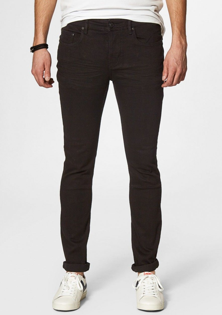 Jagger Real Black - Skinny Fit