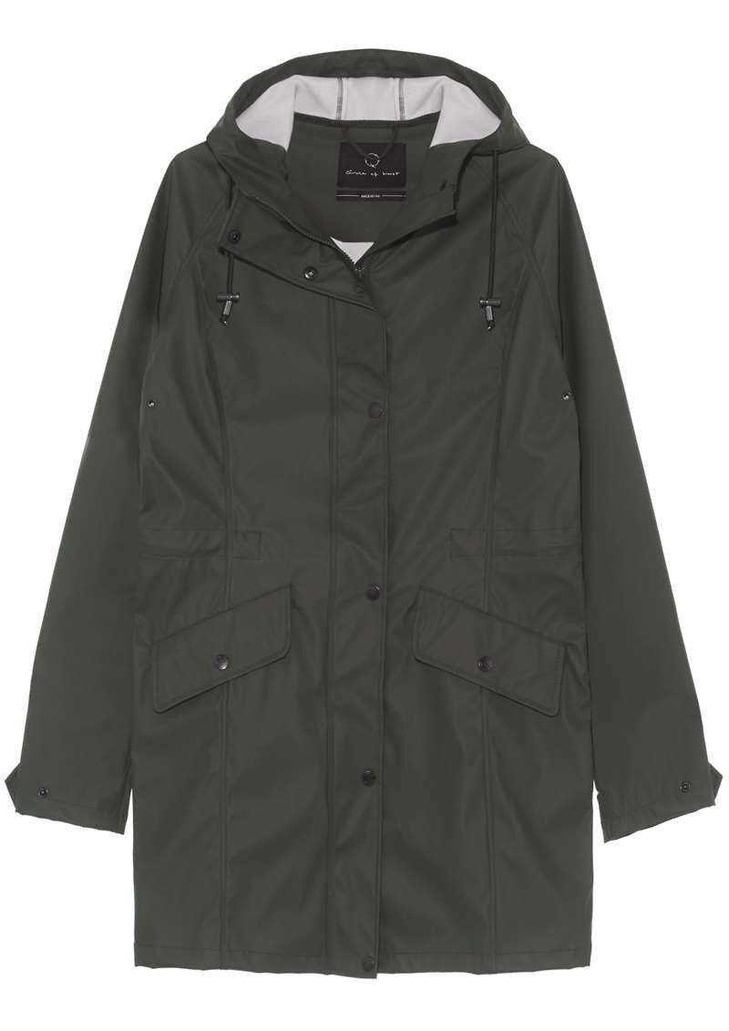Girls Blake Raincoat Dark Army