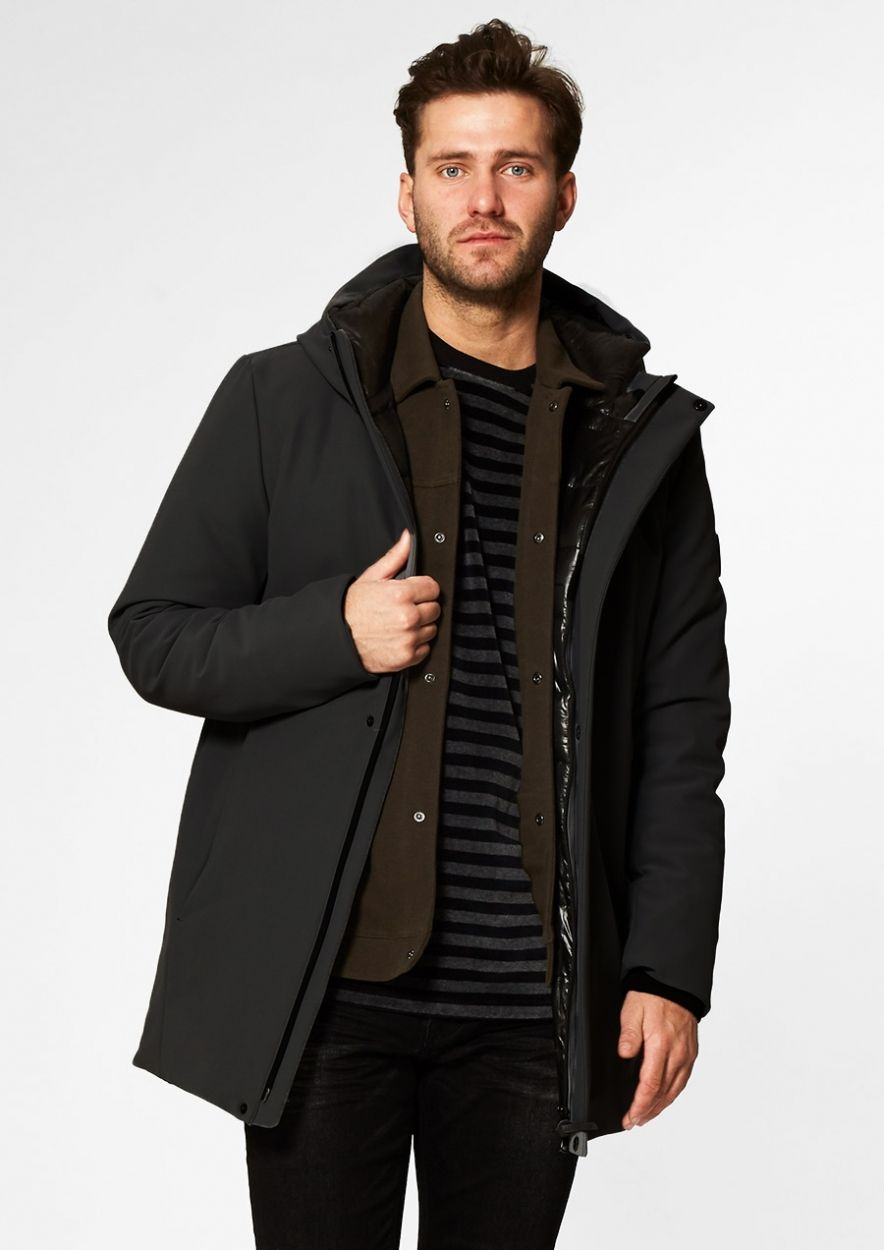 ASTOR JACKET Black