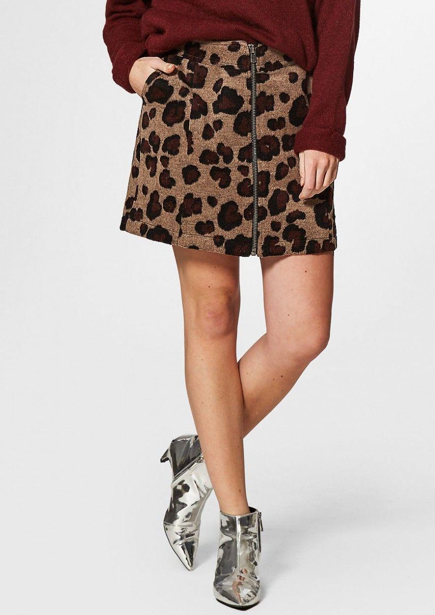 Feline Skirt Deep Burn