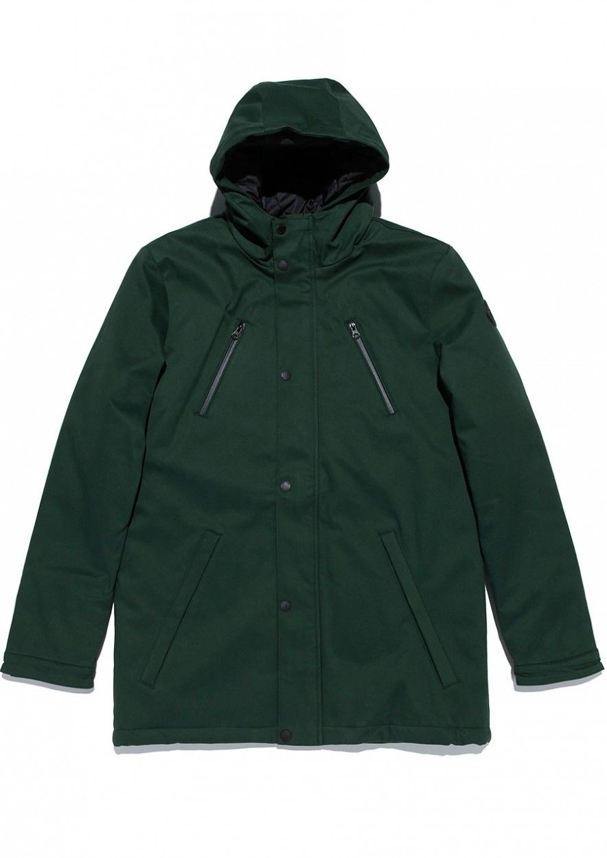 Boys Chester Jacket Green Shadow