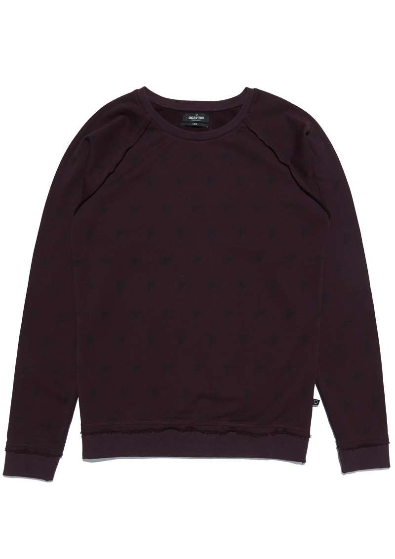 Boys Gus Sweat Red Graphite