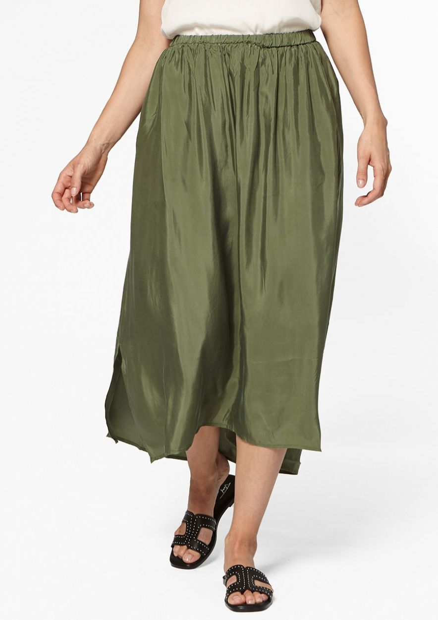 Jezebel Skirt Seaweed