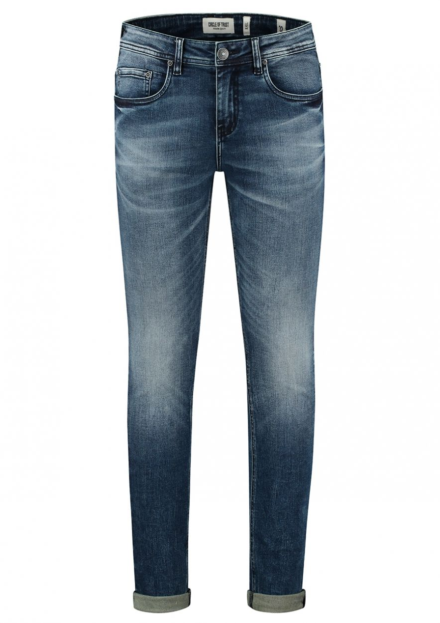 Axel Bloody Blue - Super Skinny Fit