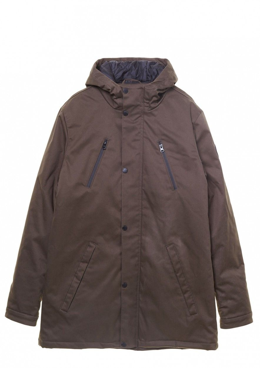 Chester Jacket Deep Maroon