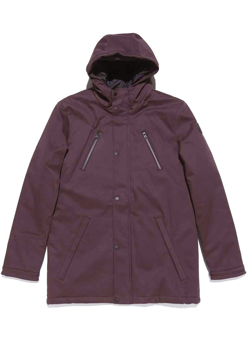 Chester Jacket Red Graphite