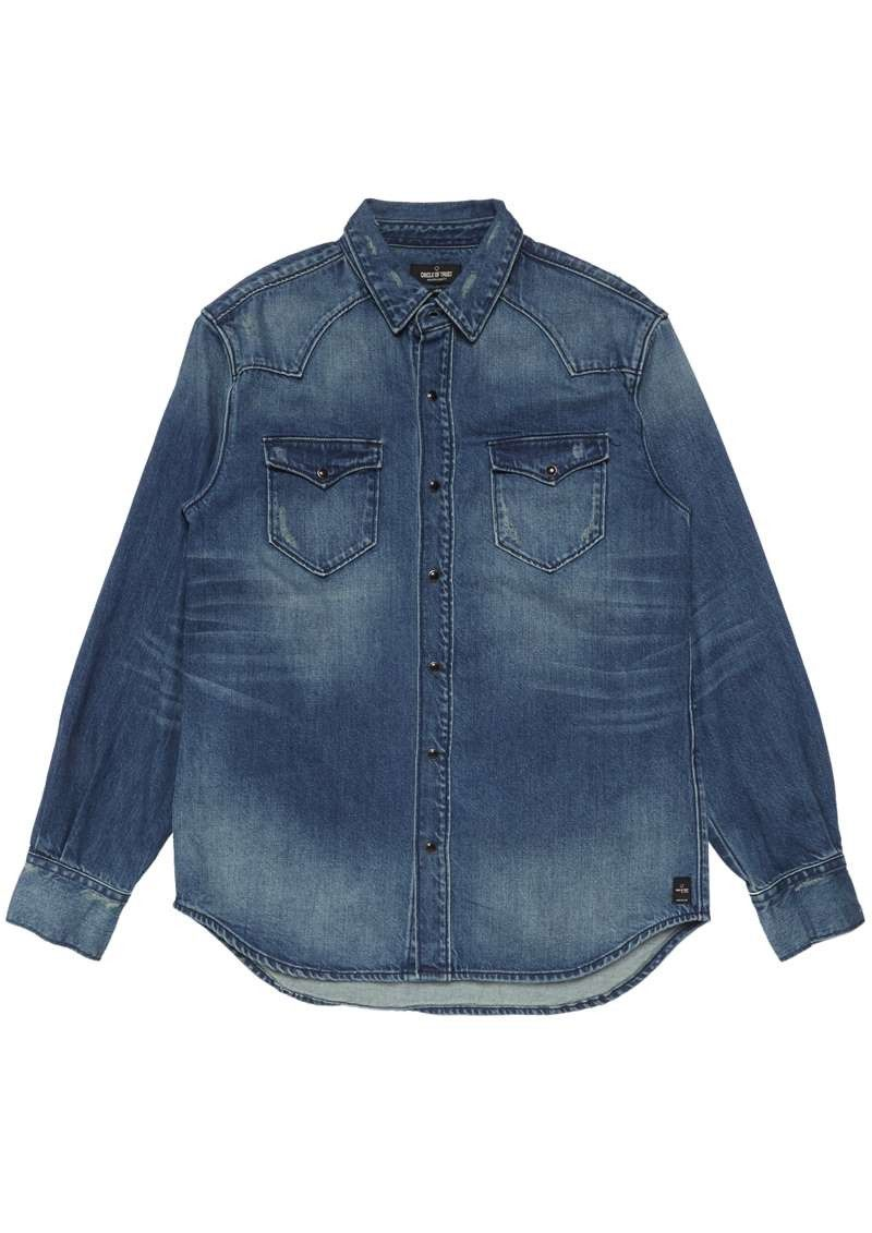 Dylan Denim Shirt Blue Denim