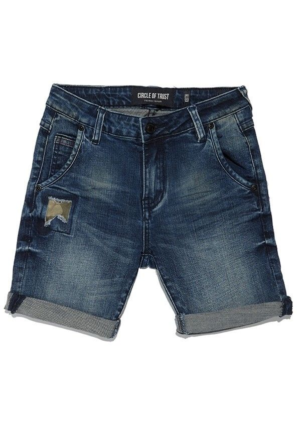 Boys Keith Short Rustic Blue