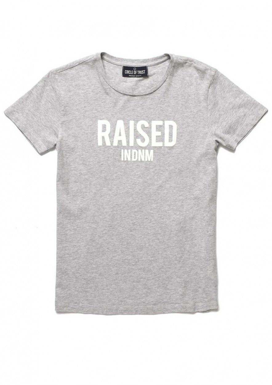 Boys Neal Tee Grey Melee